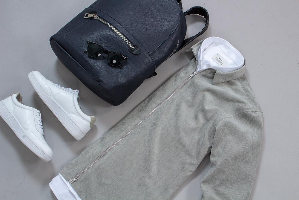 Aden manchester zip mint green