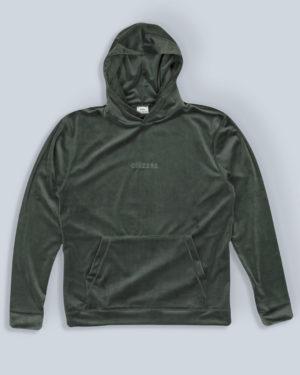 Velour-hoodie-green-flatlay